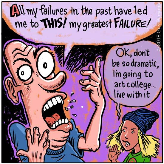 cartoon about failure