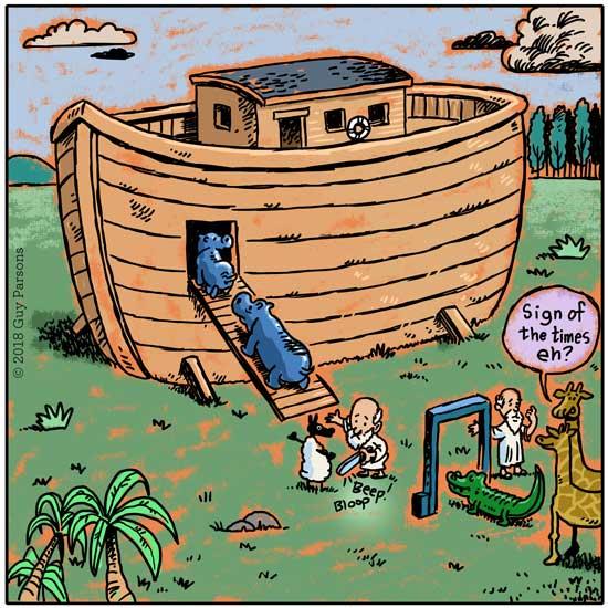 Ark cartoon, comic