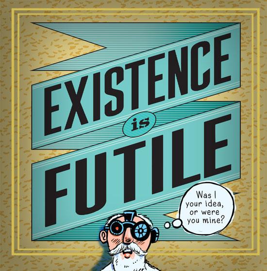 existence is futile cartoon